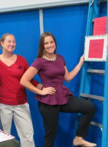 Abby Seider, PT, DPT, Chandra Moore, PTA, Ladder Safety
