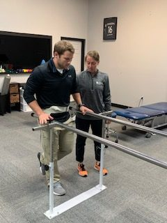 Static balance activity in physical therapy